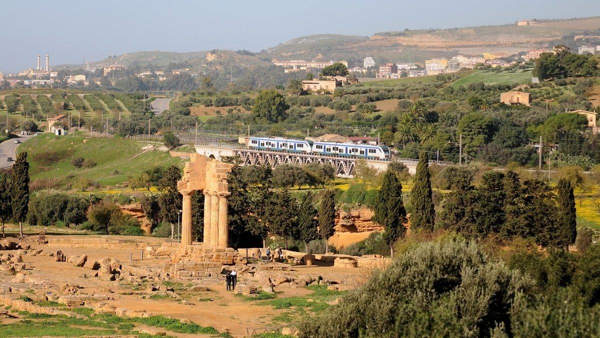 Domenica 20 Agosto torna il treno della Valle dei Templi
