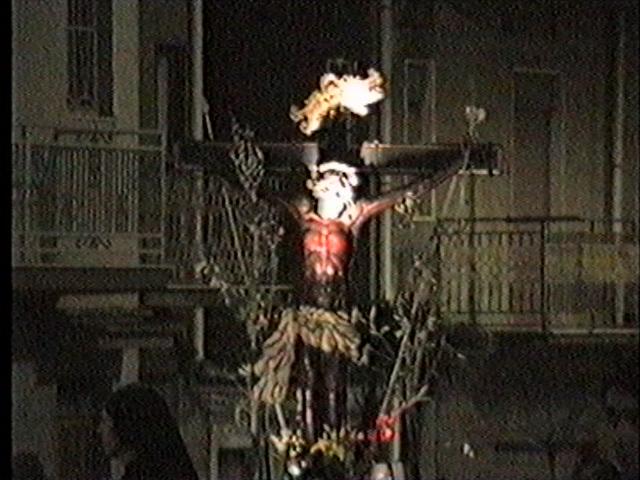 Domenica Palme - Cristo Nero (9)