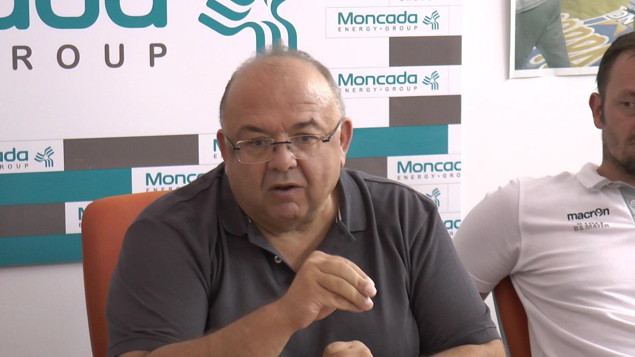 Fortitudo: Comunicato del presidente Salvatore Moncada