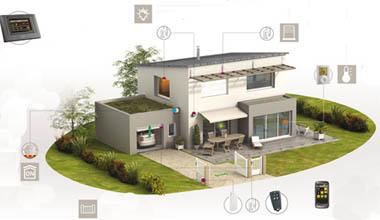 Domotica casa intelligente e a basso consumo tv sicilia 24 - Progetto casa domotica ...