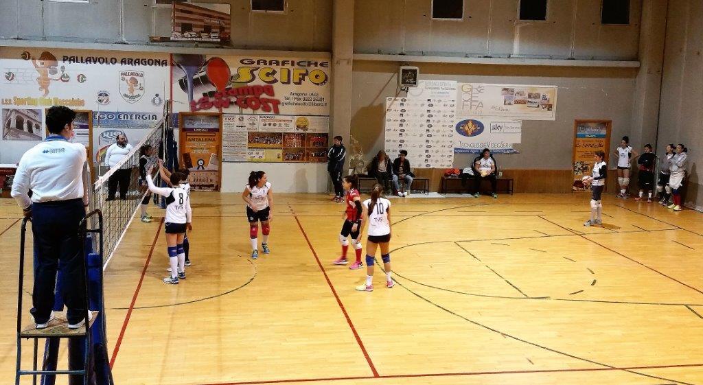 Pallavolo serie C femminile la Rio Bum Bum Aragona torna al successo battuto 3 a 1 il Volley Terrasini.