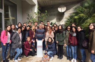 """Si è concluso lo stage dei 28 alunni dell' IISS """"LUIGI RUSSO """" di Caltanissetta alla CREA di Ragusa"""