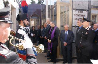 Celebrata il 32esimo anniversario dell'uccisione dell'Appuntato dell'Arma dei Carabinieri Alfonso Principato