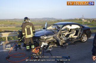 Aragona: Incidente Stradale SS189. Sei feriti