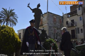 Racalmuto: Cerimonia del 72° anniversario della Liberazione d'Italia