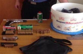 Palma di Montechiaro: Deteneva illegalmente una pistola. In manette un 29enne, bracciante agricolo