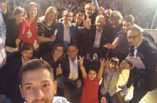 Elezioni Aragona, tanta gente al comizio del candidato Sindaco Totò Parello