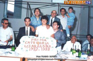 Ricordo di Papà e gli amici della U.S. Aragona, che è andato a trovare in cielo.