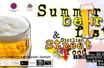 Aragona: SUMMER BEER FEST il 19 e 20 Agosto