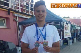 Nuoto ai Campionati Regionali Categoria Ragazzi ancora super Flavio Sciortino che vola ai campionati Nazionali di Roma