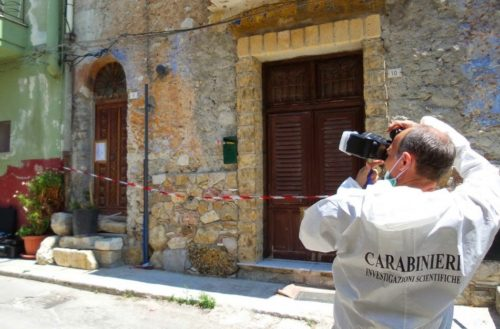Aragona: Rinvenuto cadavere di un 67enne in una abitazione del centro storico