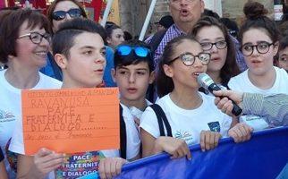 """L'educazione alla pace all'I.C. """"A. Manzoni"""" di Ravanusa"""