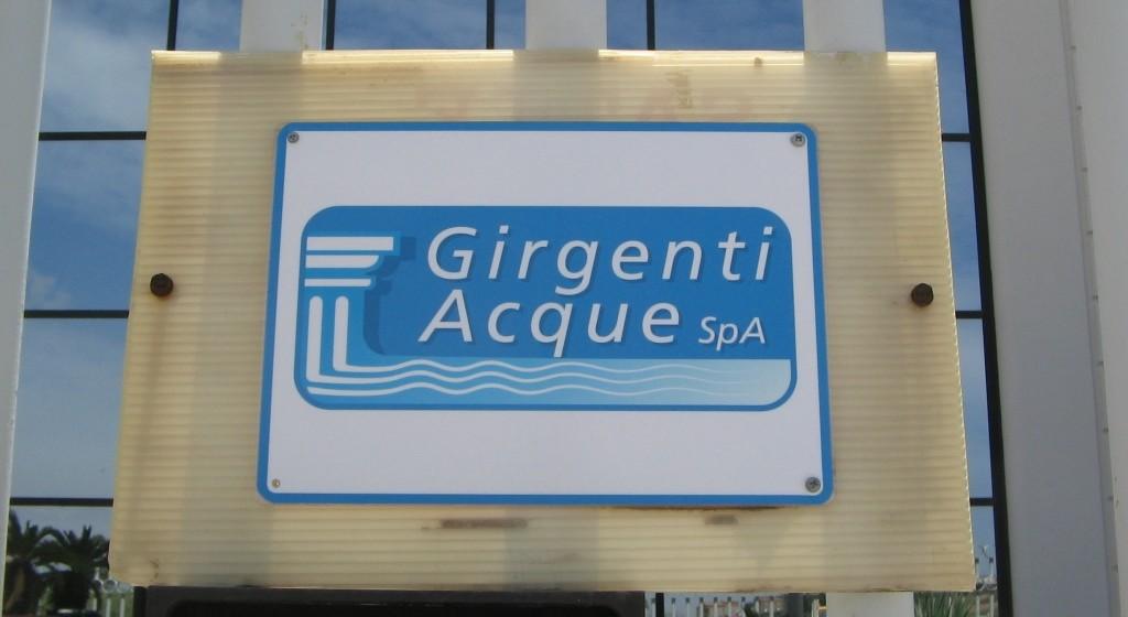 Nota stampa di Girgenti Acque in merito ai chiarimenti in merito all'attività di normalizzazione delle utenze nei comuni gestiti.