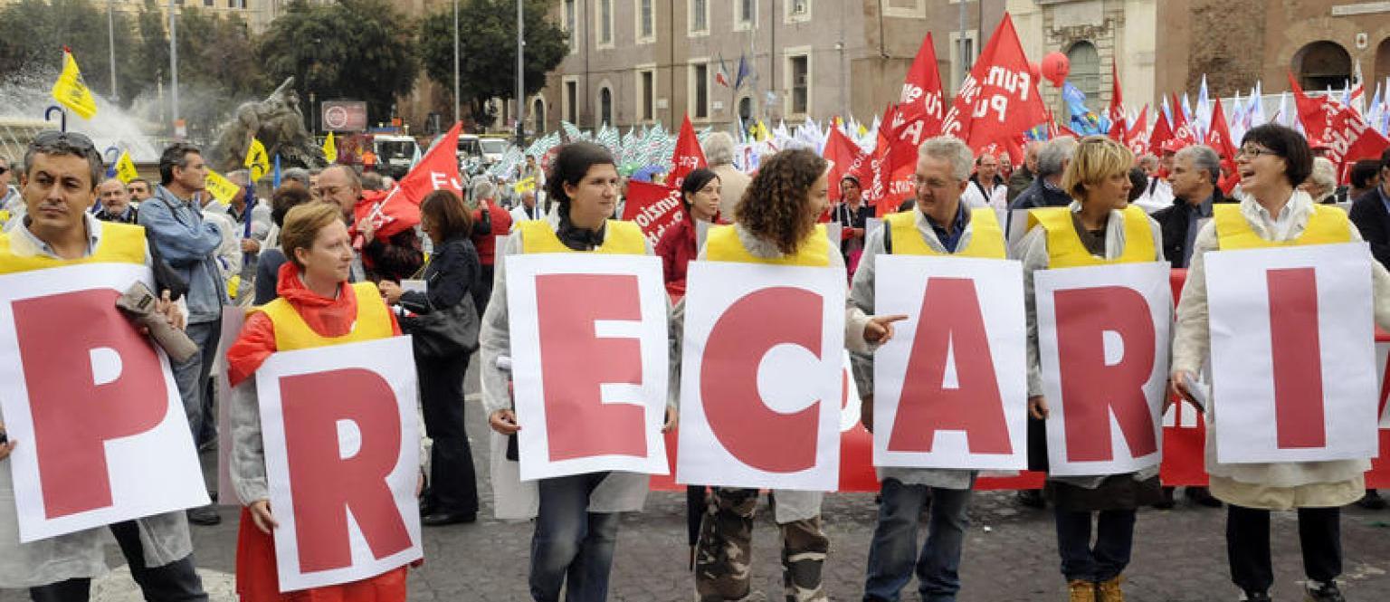 RIBERA: Nota stampa emergenza precari