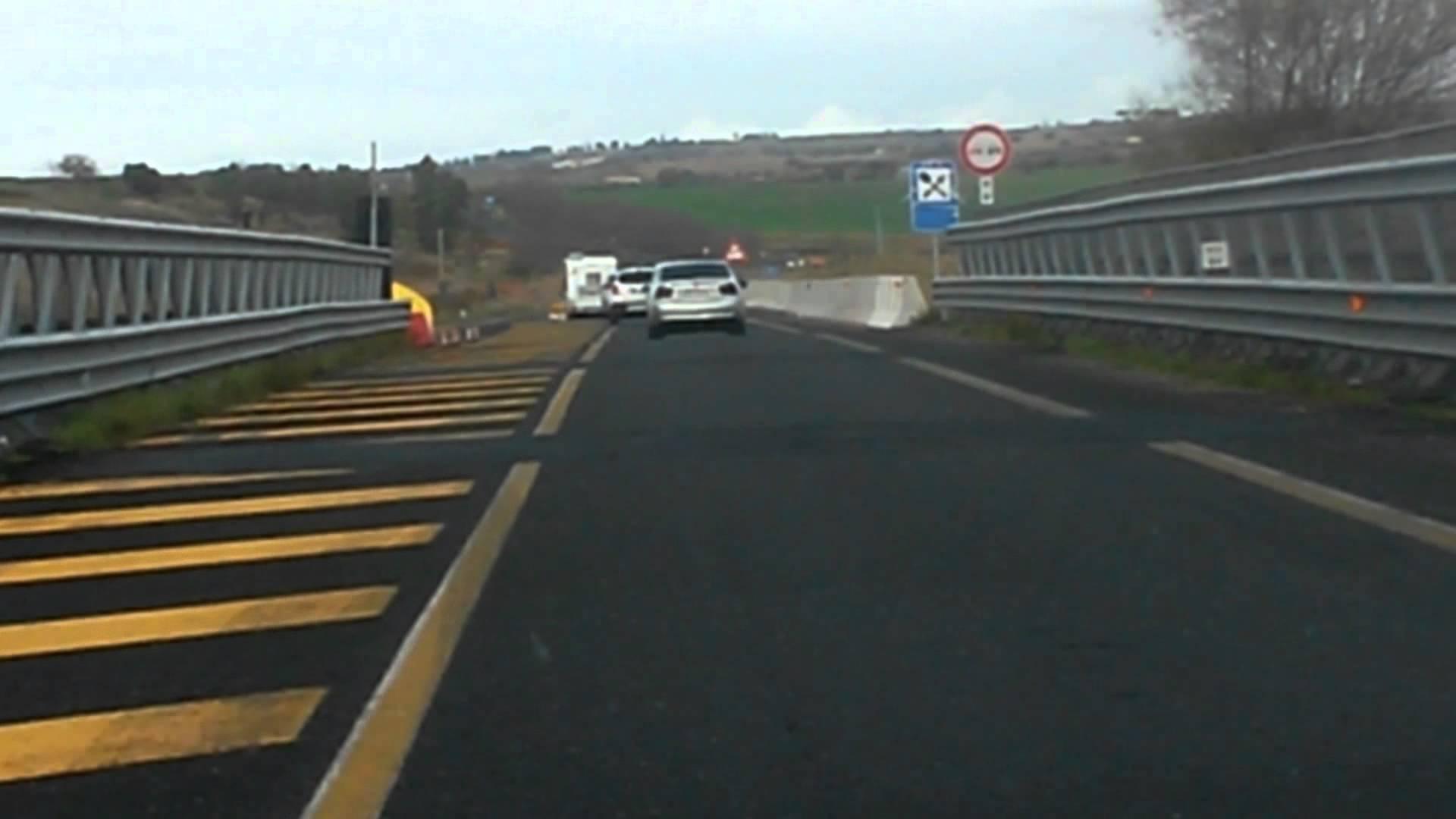 """Da  mercoledì 20 giugno chiusa l'A19 """"Palermo-Catania"""" in direzione Palermo tra Enna e ponte Cinque Archi"""