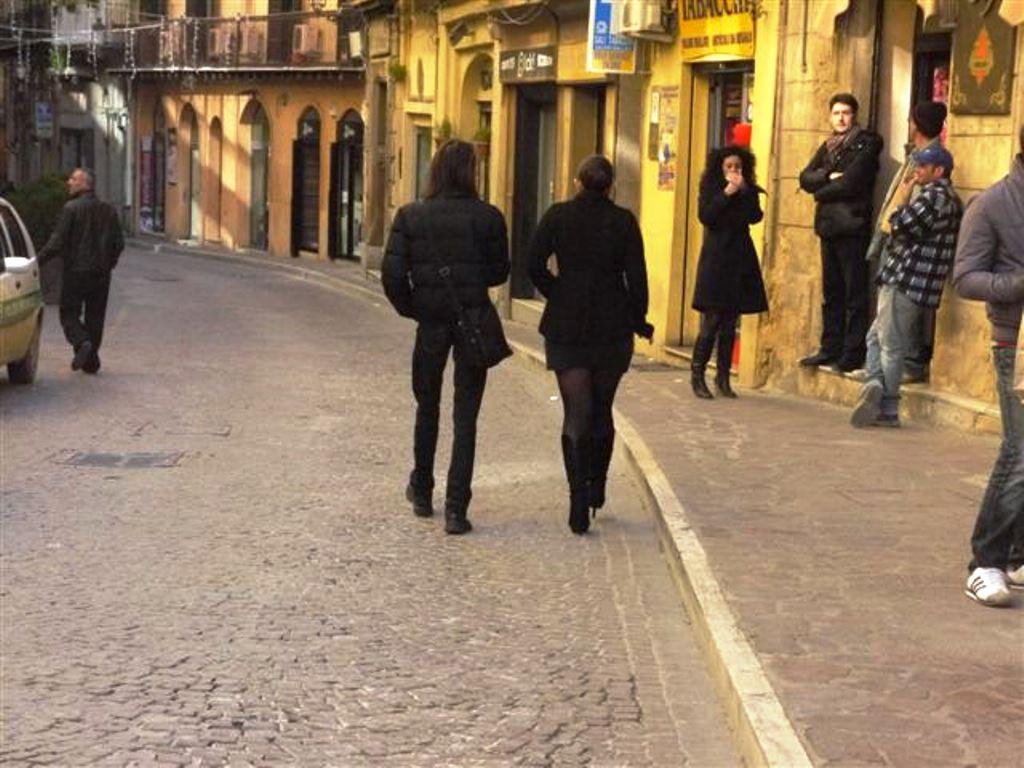 Nota del consigliere Gibilaro sulla fruizione pedonale della via Atenea.