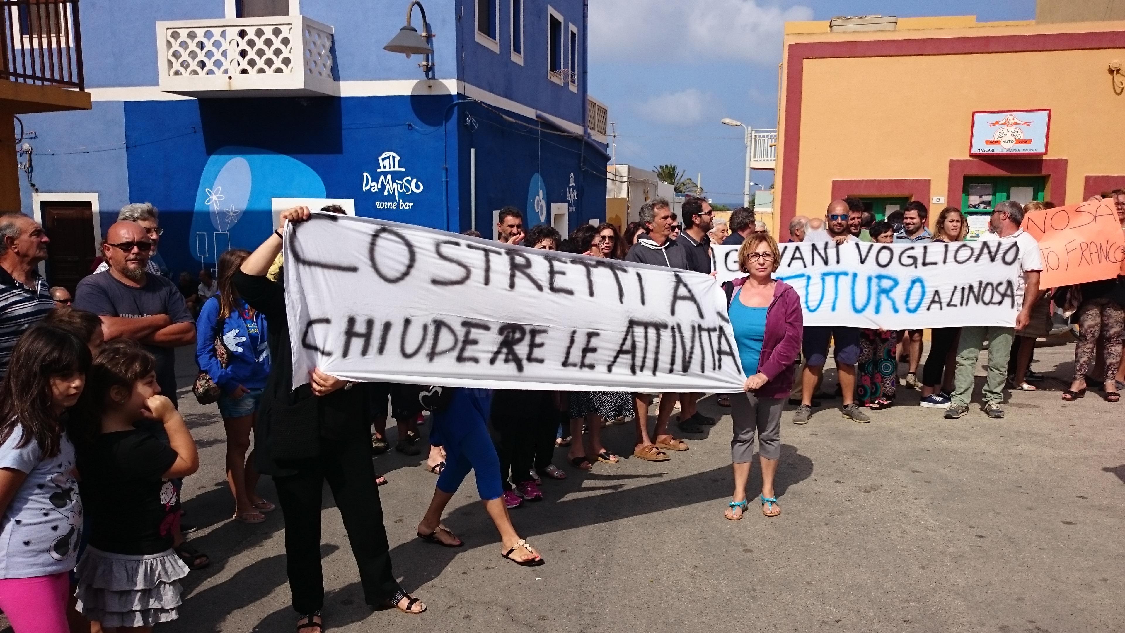 Linosa: I residenti lamentano i collegamenti marittimi