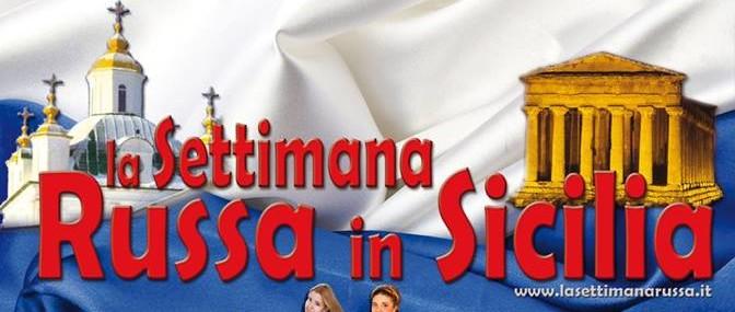 Presentazione La Settimana Russa in Sicilia – VII Edizione, Agrigento dal 15 al 19 Luglio.