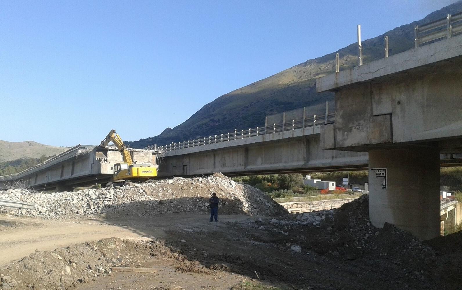 Aggiudicati i lavori per la ricostruzione del Viadotto Imera in direzione Catania