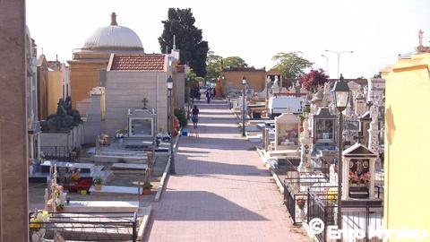 Progetto lavori demolizione e ricostruzione teorie 8-9 cimitero – Aggiudicazione lavori