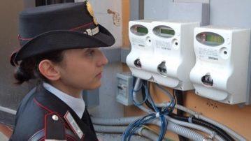 Controlli per furti di energia in tutta la provincia. Tre persone in manette.