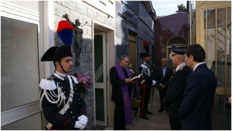 Canicattì: Il 16 aprile, verrà commemorato l'Appuntato dei Carabinieri Alfonso Principato