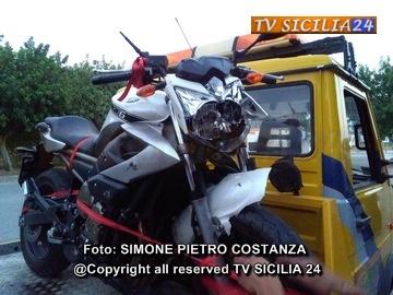 """Incidente mortale: Temporaneamente chiusa al traffico, in entrambe le direzioni,  la S.S. 121 """"catanese"""" in località Villabate (provincia di Palermo)"""