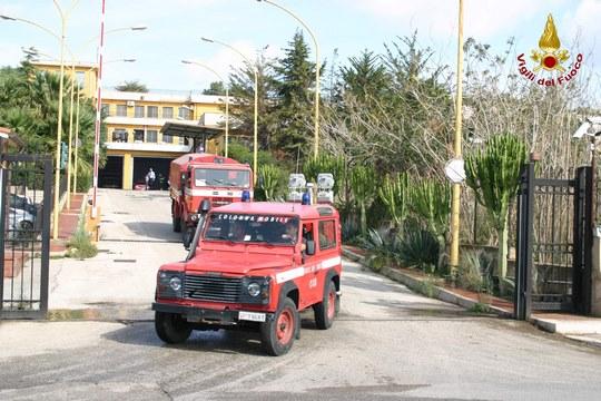 Aragona: Due auto distrutte da un'incendio.