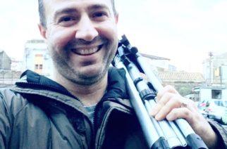 Catania: Sul set di Francesco La Rosa