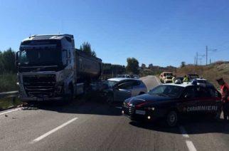 Aragona: Incidente mortale sulla ss189. Muore un 76enne