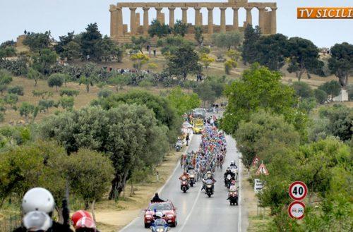 Il Giro d'Italia fa tappa ad Agrigento il 9 Maggio 2018
