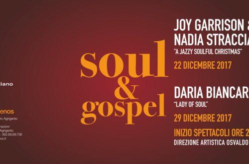 Agrigento: Terza edizione del Soul&Gospel allo Spazio Temenos il 22 Dicembre