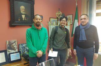 Aragona: Tv di Stato Giapponese NHK WORLD per un reportage sulla Magna Via Francigena