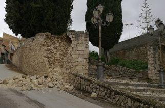 Aragona: L'ok della Protezione Civile e della Curia al ripristino del muro di cinta del Calvario