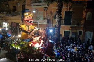 Aragona: Chiude in bellezza il Carnevale 2018