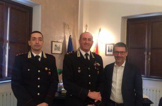 Il Comandante Prov.le dei Carabinieri in visita a Canicattì