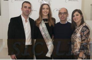 Aragona: Miss Italia, Alice Rachele Arlanch, presenta la nuova collezione Miluna da Gandolfo Gioielli