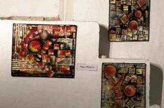 """L'artista Filippo Chiappara al """"VII Urban Contest del Pentastrattismo"""" Gubbio"""