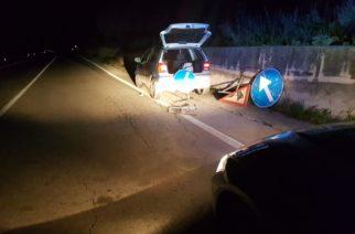 Aragona: Sorpreso a rubare la segnaletica stradale. Arrestato.