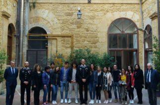 Libero Consorzio: gli studenti di Alternanza Scuola Lavoro incontrano il Comandante Provinciale dell'Arma dei Carabinieri, Giovanni Pellegrino