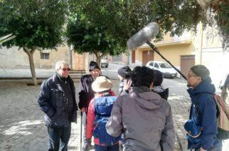 Aragona: Mandato in onda dalla TV nazionale giapponese la Magna via Francigena