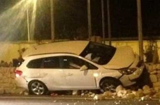Agrigento: Incidente autonomo alla rotonda San Pietro sulla SS 640