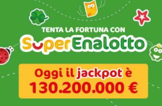 Superenalotto: 6 da oltre 130 milioni a Caltanissetta