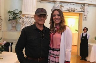 Miss Italia Alice Rachele Arlanch, in foto con l'attore Alexis Sweet, ha debuttato come attrice nell?ultima puntata di ?Don Matteo 11? trasmessa su Raiuno, 19 aprile 2018.  ANSA/UFFICIO STAMPA +++ ANSA PROVIDES ACCESS TO THIS HANDOUT PHOTO TO BE USED SOLELY TO ILLUSTRATE NEWS REPORTING OR COMMENTARY ON THE FACTS OR EVENTS DEPICTED IN THIS IMAGE; NO ARCHIVING; NO LICENSING +++