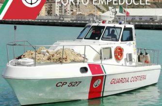 Sequestro di 1600 m di reti abusive a pescatori di frodo