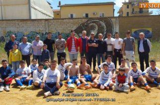 """Giovanissimi l'Aragona chiude in bellezza il campionato vincendo 5-2 contro la Virtus Favara e saluta il """"Totò Russo"""" in sabbia."""