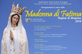 Aragona: Prendono il via i Festeggiamenti in onore della Madonna di Fatima.