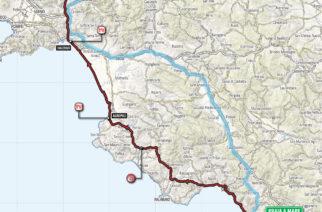 Giro d'Italia 2018: Domani la 8a Tappa. Da Praia a Mare a Montevergine di Mercogliano