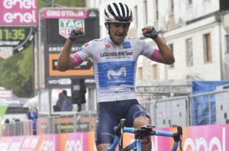 Giro d' Italia 2018: Carapaz ha vinto l'ottava tappa del Giro d'Italia, Yates ancora in Maglia Rosa