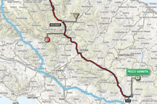 Giro d'Italia 2018: Domani la 9a Tappa. Da Pesco Sannita al Gran Sasso D'Italia